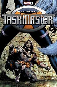 TASKMASTER #3 (2021) NM 1st app Taegukgi Black Widow - Low Print Run - Marvel