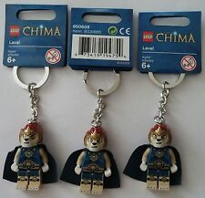 LEGO® Legends of Chima™ Schlüsselanhänger 850608 Laval  3x   Neu Keychain new