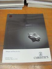 A970 OLD PAWN CHRISTIE'S ANTIQUE AND FINE JEWELRY MAY 10, 1990 MAGAZINE