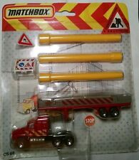 Matchbox Foreign Issue CS60 Pipe Truck 1991