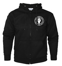 NORTHERN SOUL ,MUSIC,BLACK ZIP HOODIE ,UNISEX