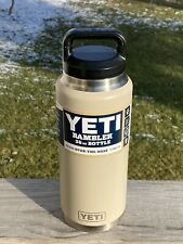 New listing Yeti Sand 36 oz Rambler Water Bottle New Retired Rare Color Authentic