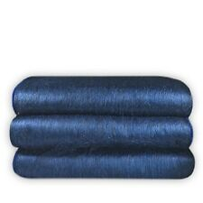 "SOFT & WARM ALPACA LLAMA WOOL BLANKET MIDNIGHT BLUE QUEEN BED SOFA COVER 95""x67"""