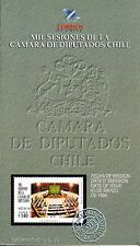 Chile 1999 Brochure Mil Sesiones de la Camara de Diputados
