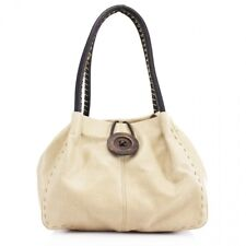 Women Shoulder Bag Large Wooden Button Front Twin Large Handles Hand Bags 836
