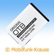 Akku f. HTC Touch Pro 2 1100mAh Li-Ionen (BA S420)
