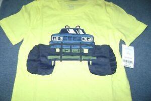 MONSTER TRUCK   T-SHIRT BOYS  Size  5T  NEW $16  L@@K