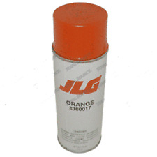 JLG AERIAL WORK PLATFORM AERISOL SPRAY PAINT ORANGE PARTS 017