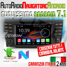 AUTORADIO ANDROID 7.1 Mercedes Classe CLS G E E200 E220 E240 E270 E280 E320 W...