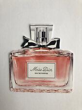 Christian Dior Miss Dior Perfume Fragrance Sample Card Bottle Natalie Portman