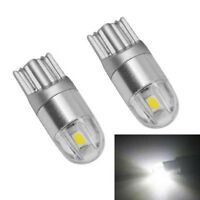 4pcs  T10 W5W 168 2 LED 6500K Car interior Reading Light 12V DC White Lamp