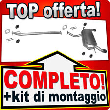 Scarico Completo KIA SPORTAGE 2.0 4x4 con DPF Marmitta Y98B