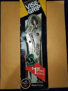 Vintage Petersen Vise Grip No.10WR Locking Pliers w/Original Box NOS 1970's USA