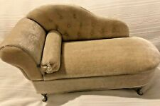 Beige Chaise Lounge Jewelry Box Holder Unique Home Decor Great Gift! GLOBAL!