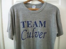 Vintage Tri Blend T Shirt L Russell Athletic 44/43/13 Poly Rayon tee Team Culver