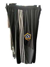 Adidas LOS ANGELES GALAXY 3/4 Training Shorts LE 20/21 Black White Mans M ONLY