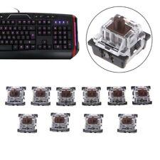 10Pcs 3 Pin KeyCaps Brown Mechanical Keyboard Switch for Cherry MX Keyboard