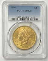 "1900-P $20 Liberty Gold Double Eagle Pre-1933 PCGS MS63+ Better Date ""Plus""!!"