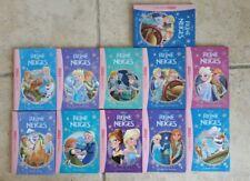 collection LOT de 10 livres LA REINE DES NEIGES bibliothèque rose enfant DISNEY