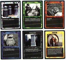dr Doctor Who CCG 1996 Set - Common Uncommon Rare Time Watcher - 298 cards