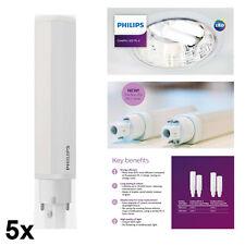 5x Philips CorePro LED API 8.5w = 26w 840 2 BROCHES G24d-3 Biax Dulux Lynx D