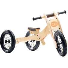 TRYBIKE - 4 in 1 Trike and Balance Bike - Brown Trim