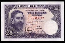 248-INDALO- Banco de España, Madrid. 25 Pesetas Julio 1954. Serie J. SC- !!!!!!!