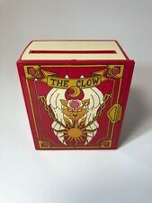 The Clow Plastic Slotted Book Style Clasp Box Case With Wheels Mfg. b. little