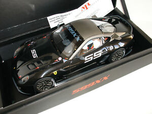 1/18 FERRARI 599XX #55 BLACK METALLIC LIMITED EDITION 99 pcs by MR COLLECTION