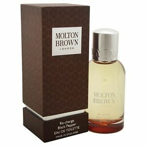 Re-Charge Black Pepper by Molton Brown for Men - 1.7 oz EDT Spray