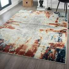 Multicolor Decorative Rugs Large Floor Carpet Abstract Contemporary Area Rug