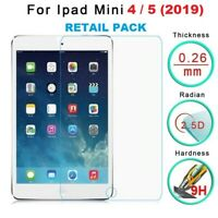 100% Genuine Tempered Glass LCD Screen Protector Film For iPad Mini 4 / 5 2019