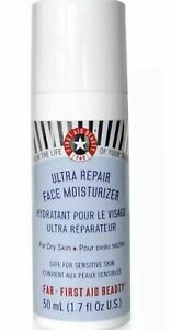 First Aid Beauty Ultra Repair Face Moisturizer FAB | 1.7 oz Large Size NEW