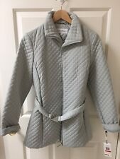 New Calvin Klein quilted women's jacket CW924650 Size XS Grey