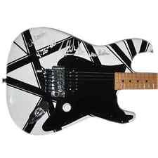 Eddie Van Halen Signed Guitar Van Halen Autographed Guitar StageUsed Photo Proof