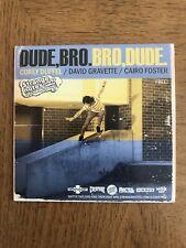 Strange Notes Dude Bro Dude Corey Duffle Gravette Video Dvd Skateboard Skate