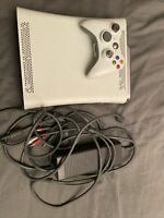 xbox 360 console 20 gb hd one controller and hookups non hdmi see description