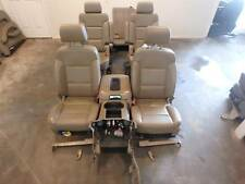 GMC YUKON XL TAHOE 1500 FRONT 2ND SECOND 3RD ROW REAR SEAT SET LEATHER 15 16 17