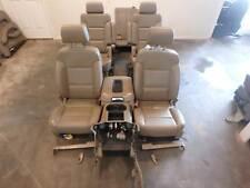 GMC YUKON XL TAHOE 1500 FRONT 2ND 3RD ROW REAR SEAT SET LEATHER HEATED 15 16 17