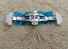 Fibbia & Ceramica Fibbia collegamenti si adatta Emporio Armani AR1476/AR1453 Orologio Cinturino/band