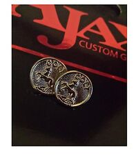 COLT FACTORY Medallions - SILVER Plated - 2 Pack NEW Pair