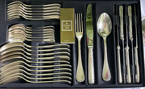 Christofle Malmaison Silber Tafelbesteck 30 Teile aktueller NP: ca. 2.500 Euro