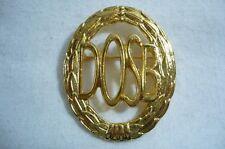 Sportabzeichen DOSB in 50mm - mit Nadel, in bronze, silber oder gold wählbar