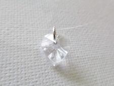 Collier ras du cou en fil de nylon, pendentif coeur en cristal SWAROVSKI