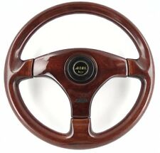 Genuine OBA wood rim 350mm steering wheel. Mercedes C E S G Class BMW Series  8A