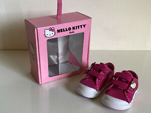 NEW KEDS HELLO KITTY MIMMY CRIB HOT PINK BABY GIRL SNEAKERS SHOES 3-6 MONTHS $35