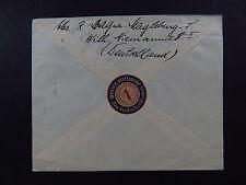 cover Germany Winterhilfswerk Deutschen Volkes Siegel seal Arbeitsnot 1934 WHW