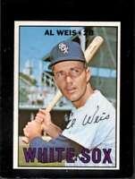 1967 TOPPS #556 AL WEIS NMMT WHITE SOX DP  *XR11223