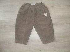 Topolino Hose Jeans Shorts Capri beige braun 86 92