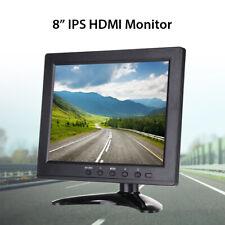 "8"" TFT LCD HDMI Display Monitor 1024x768 400cd/m2 VGA/AV/BNC/USB Input for CCTV"